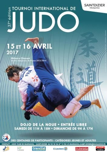 37e Tournoi International de Judo à Saint-Dizier