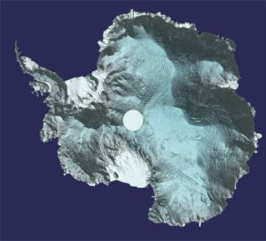 Grace au satellite CRYOSAT, L'Antarctique est en 3D !